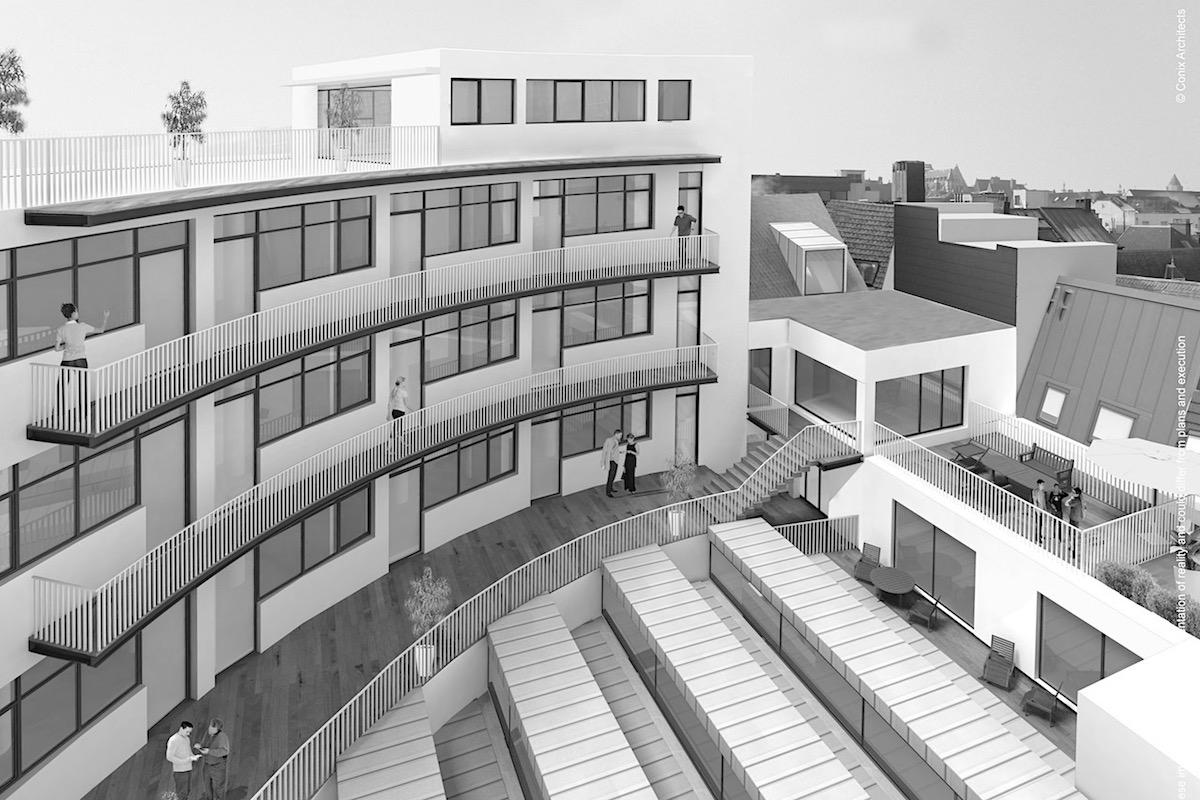Het Glazen Huis, creatie van stadskapitaal