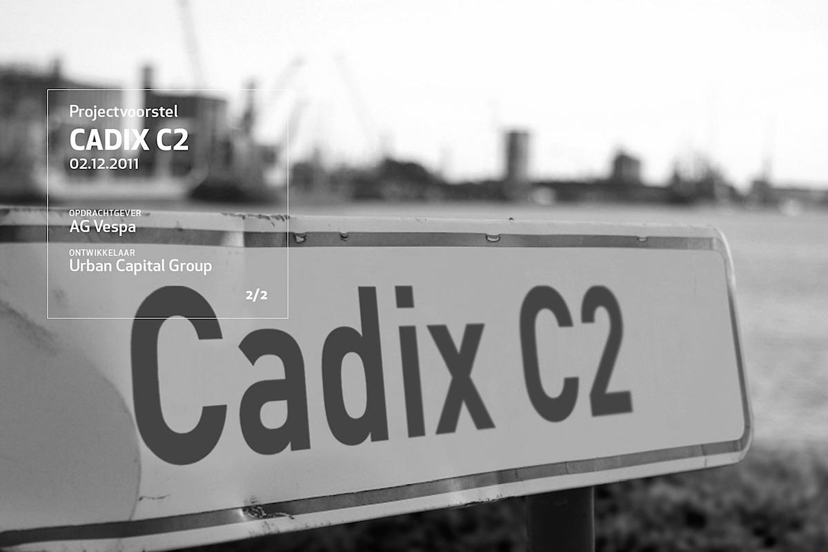 Urban Capital Group stelt zich kandidatuur voor de ontwikkeling van de eerste site in de Cadixwijk op 't Eilandje
