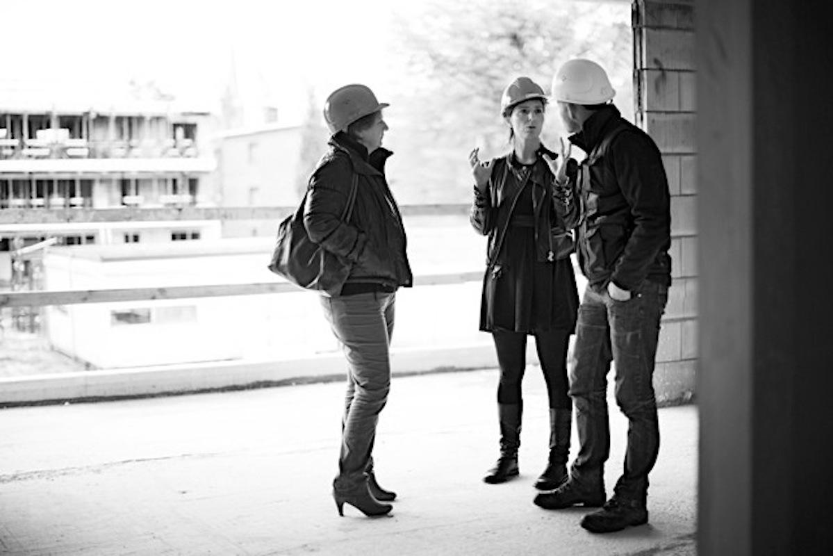 Vrouwen leiden bouwproject Depot Cadix op het Antwerpse Eilandje